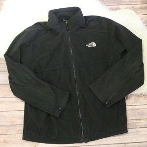 Men's North Face Black Fleece Jacket